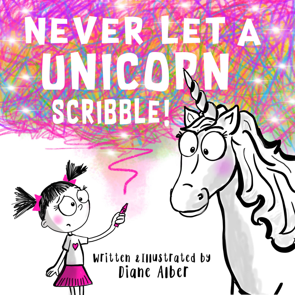 Never Let a Unicorn Scribble!