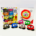 8 MINI Emotion Plush Toys with A Little SPOT of Feelings Hardcover Book Box Set