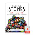 DIGITAL Scribble Stones Art Guide: Step by Step Painting Techniques and Tricks