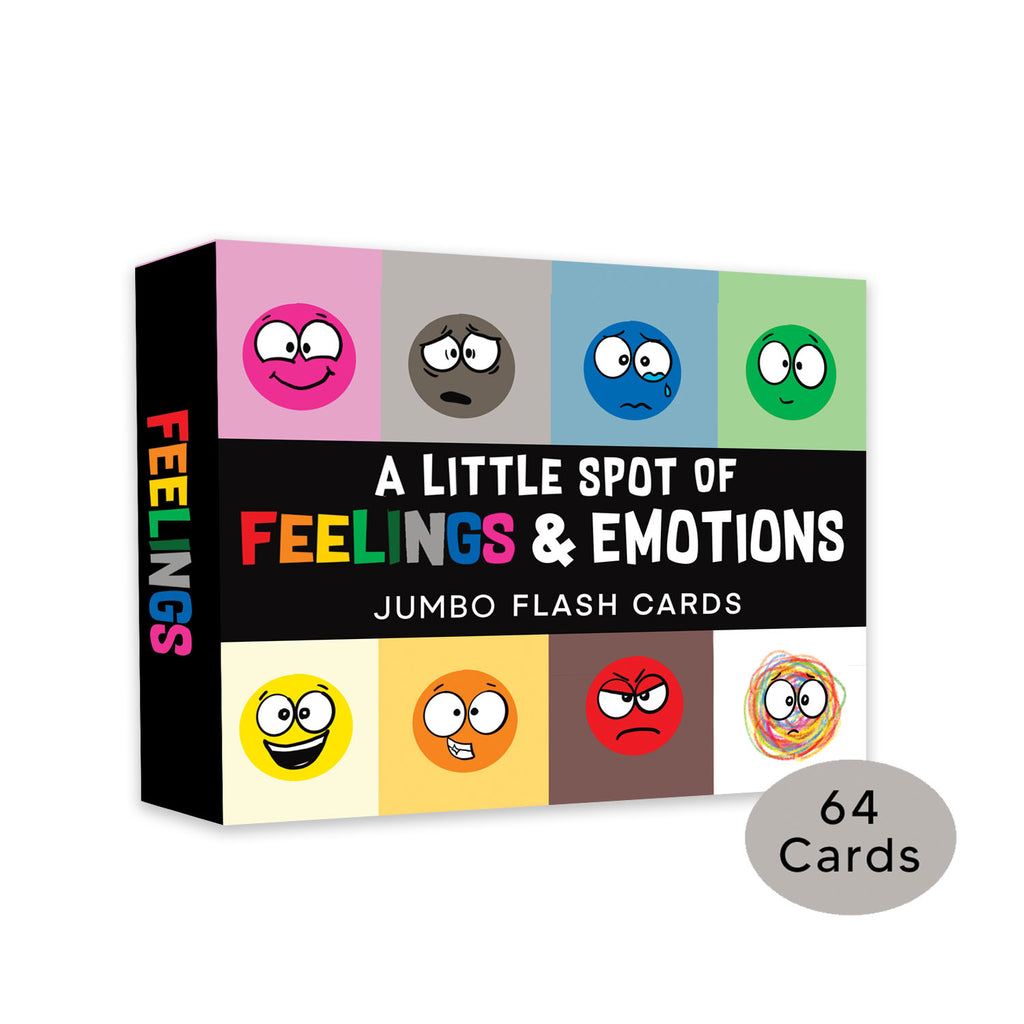 JUMBO-A Little SPOT of Feelings and Emotions FLASHCARDS