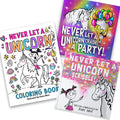 Unicorn Party Bundle ( Unicorn Party, Unicorn Scribble & Unicorn Coloring book)