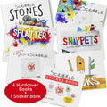 Scribble Series Bundle (6 Book Bundle Plus Sticker Book)