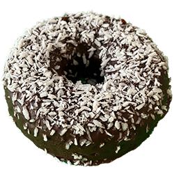 Wicked Chocolate Glazed Topped Donut
