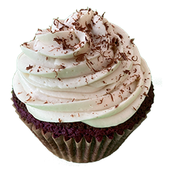 Decadent Double Chocolate Cupcake