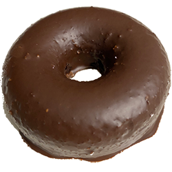 Wicked Chocolate Glazed Donut