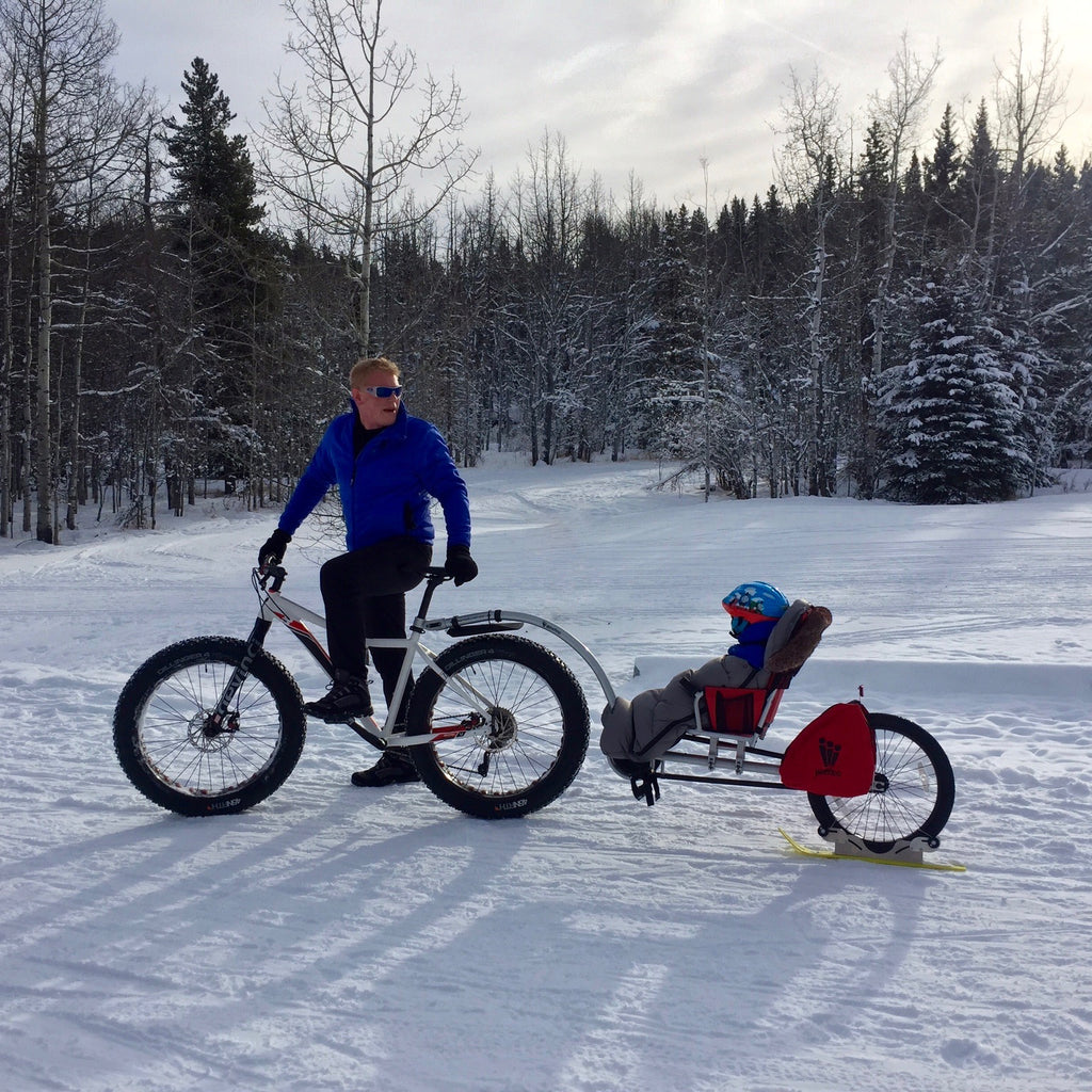 How to stay active with your kids once the snow flies!