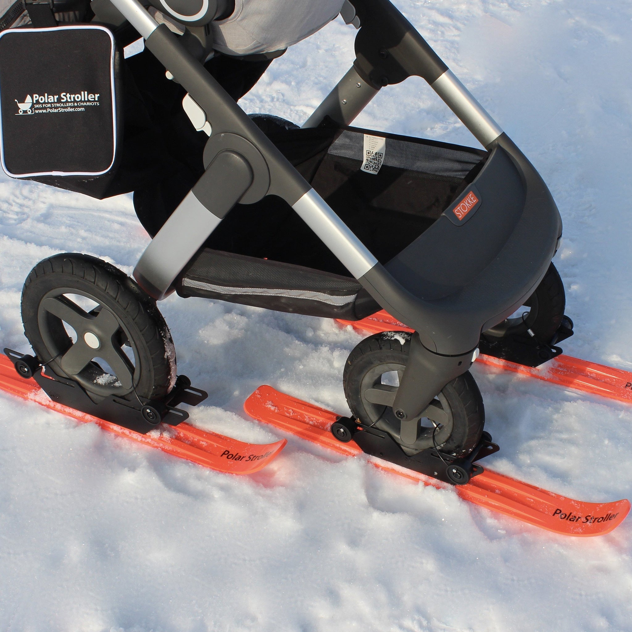 RX4 - 4-WHEEL POLAR SKI SET