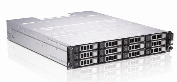 <b>Dell PowerVault MD1200 2U storage</b> (12) 600GB 15K SAS, (2) Storage Controllers, (2) PSU, PERC H800, Rails