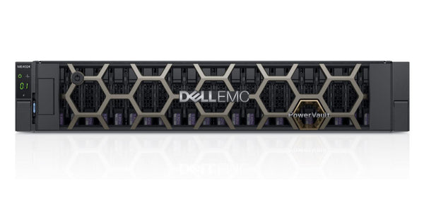 <b>Dell PowerVault ME4024 2U storage</b> (24) 3.84TB SAS SSD, (2) 8-Port 10GbE Base-T Controllers