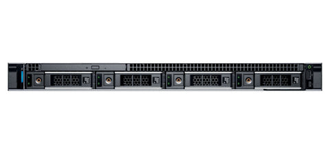 <b>Dell PowerEdge R340 1U rack server</b> (1) Intel Xeon E-2124 4C, 16GB RAM, (2) 300GB 15K SAS (2) 1TB 7.2K SATA