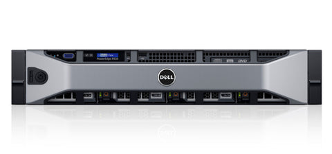 <b>Dell PowerEdge R530 2U rack server</b> (2) Xeon E5-2620 V3 6C, 32GB RAM, (2) 240GB SSD, (4) 1TB SAS