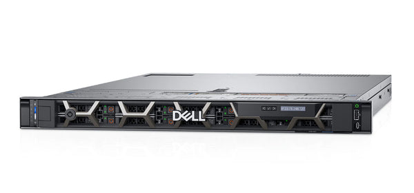<b>Dell PowerEdge R6515 1U rack server</b> (1) AMD EPYC 7702P 64C, 1024GB RAM, (2) 960GB SSD, (8) 8TB NVMe SSD