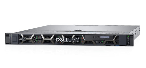 <b>Dell PowerEdge R6415 1U rack server</b> (1) AMD EPYC 7281 16C, 128GB RAM, (4) 480GB SSD