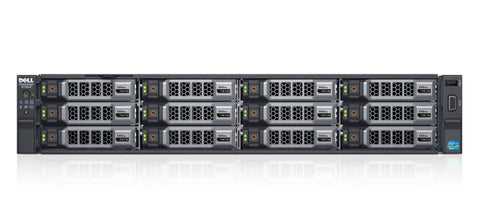 <b>Dell PowerEdge R730XD 2U rack server</b> (2) Xeon E5-2678 V3 12C, 192GB RAM, (2) 480GB SSD, (4) 8TB SAS