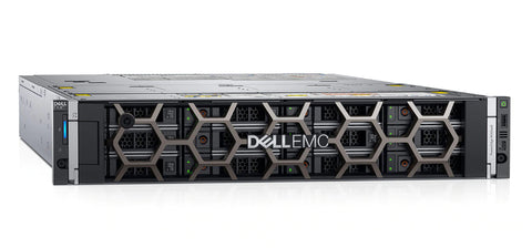 <b>Dell PowerEdge R740XD 2U rack server</b> (2) Xeon Silver 4214 12C, 128GB RAM, (2) 480GB SSD, (4) 14TB SAS