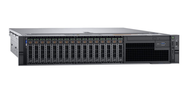 <b>Dell PowerEdge R740 2U rack server</b> (2) Xeon Silver 4110 8C, 128GB RAM, (2) 400GB SSD, (4) 1.92TB SSD