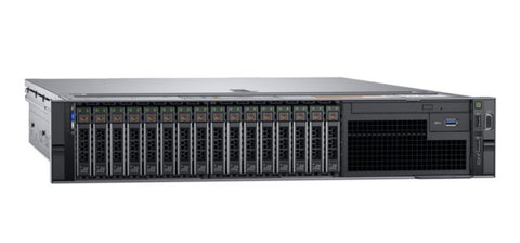 <b>Dell PowerEdge R740 2U rack server</b> (2) Xeon Platinum 8260 24C, 768GB RAM, (2) 960GB 12G SAS SSD, (14) 1.92TB 12G SAS SSD, NVIDIA Tesla P40 GPU