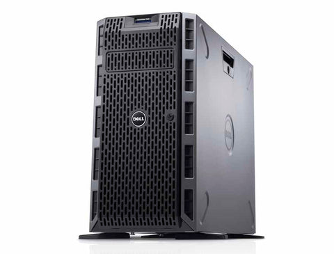 <b>Dell PowerEdge T630 tower server</b></br> (2) E5-2640 V3 8C, 64GB RAM, (2) 240GB SSD, (4) 8TB 7.2K SAS