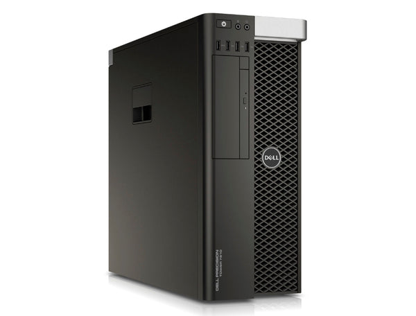 <b>Dell Precision T7910 tower workstation</b></br> (2) E5-2643 V3 6C, 128GB RAM, (1) 1TB SSD, (1) 4TB 7.2K SATA, NVIDIA M5000
