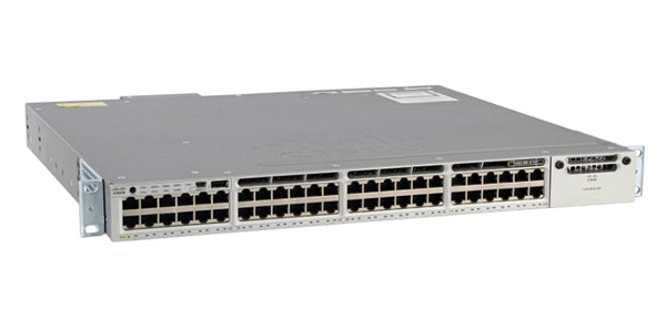 Cisco Catalyst WS-C3850-48F-S 48-Port Gigabit Ethernet PoE+ L3 Switch