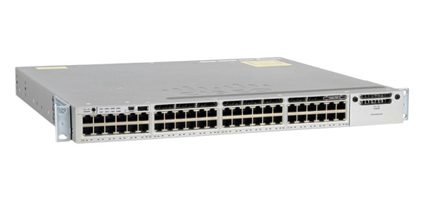 Cisco Catalyst WS-C3850-48T-E 48-Port Gigabit Ethernet L3 Switch