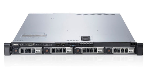 <b>Dell PowerEdge R420 1U rack server</b><br>(2) Xeon E5-2430 6C, 24GB RAM, (1) 240GB SSD, (3) 1TB 7.2K SAS
