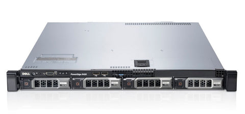 <b>Dell PowerEdge R420 1U rack server</b><br>(2) Xeon E5-2430 6C, 32GB RAM, (1) 240GB SSD, (3) 500GB 7.2K SATA