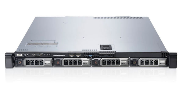<b>Dell PowerEdge R420 1U rack server</b><br>(2) Xeon E5-2430 6C, 32GB RAM, (4) 1TB 7.2K SAS