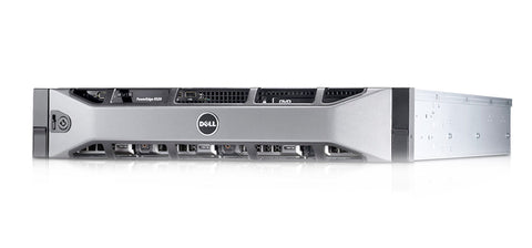 <b>Dell PowerEdge R520 2U rack server</b> (2) Xeon E5-2407 4C, 16GB RAM, (4) 1TB SATA