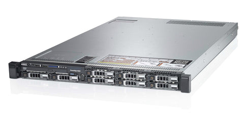 <b>Dell PowerEdge R620 1U rack server</b> (2) Xeon E5-2650 V2 8C, 64GB RAM, (4) 480GB SSD