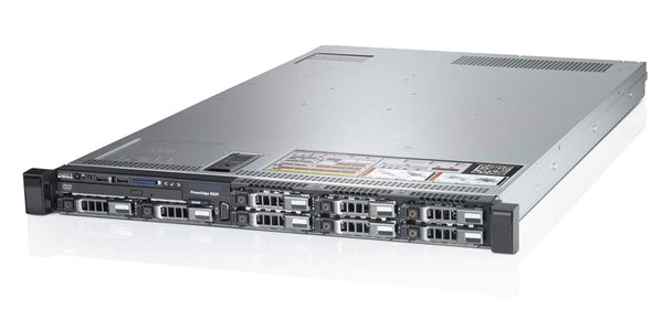 <b>Dell PowerEdge R620 1U rack server</b> (2) Xeon E5-2670 V2 10C, 128GB RAM, (2) 240GB SSD, (4) 960GB SSD