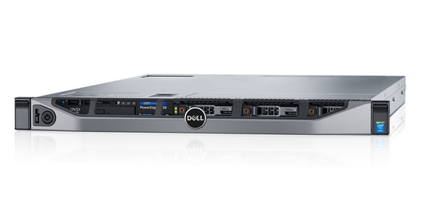 <b>Dell PowerEdge R630 1U rack server</b> (2) Xeon E5-2678 V3 12C, 256GB RAM, (2) 480GB SSD, (4) 1.92TB SSD