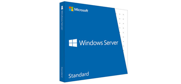 <b>Windows Server 2016 Standard License (OEM)</b> (16) cores, (2) OSEs, 5 User CALs