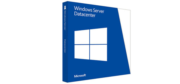 <b>Windows Server 2016 Datacenter License</b> (16) cores, Unlimited OSEs, 5 User CALs