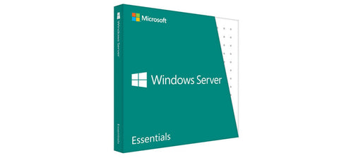 <b>Windows 2016 Essentials License</b> (2) CPU, 25 User CALs, DVD, COA