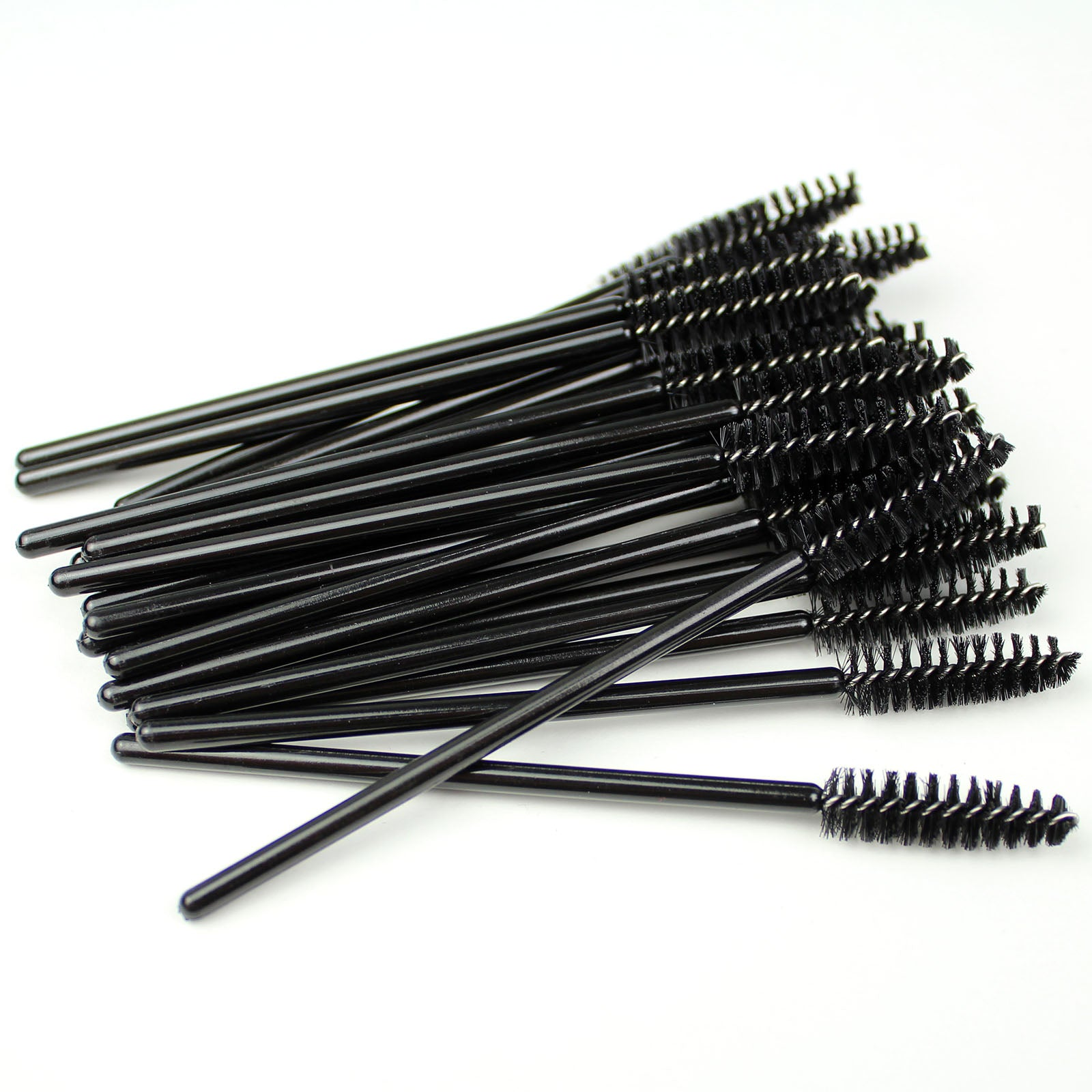 50 Disposable Eyelash Mascara Wand Brush for Makeup Applicator