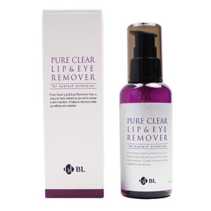 BL Pure Clear Lip & Eye Remover For Eyelash Extentions 100ml