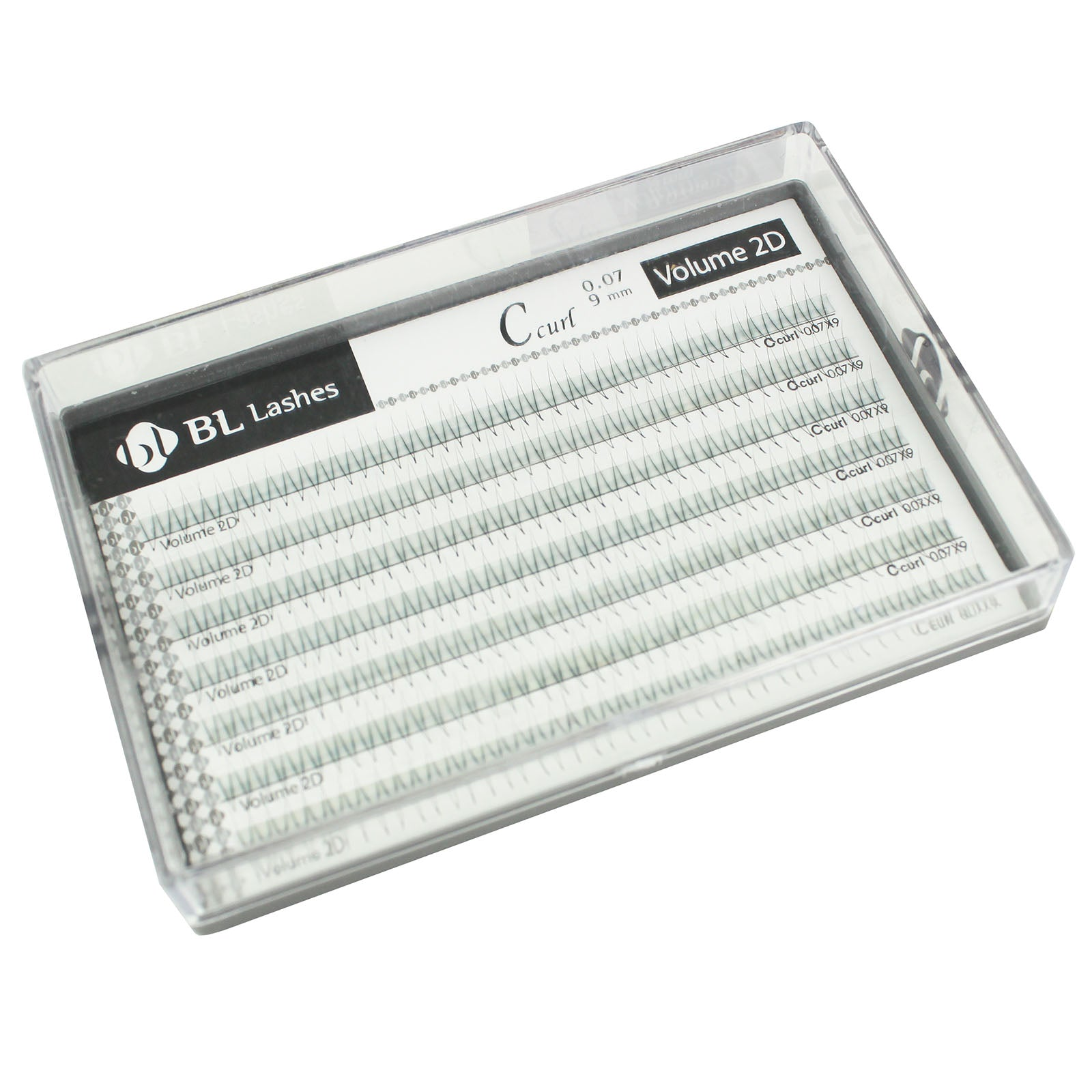 BL Blink Lash Volume Lash C 2D 0.07MM Thickness