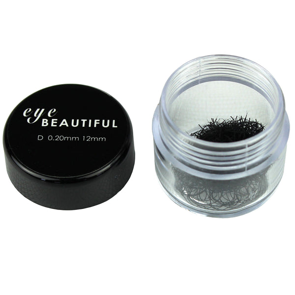 Premium MINK Individual Loose Lashes D Curl 10mm to 14mm Eyelash Extension