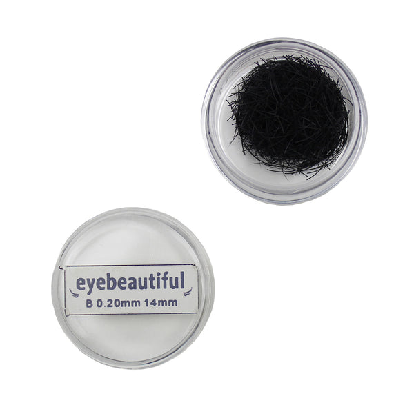 Eyebeautiful Individual Loose Silk Lashes .20mm B Curl Eyelash Extension