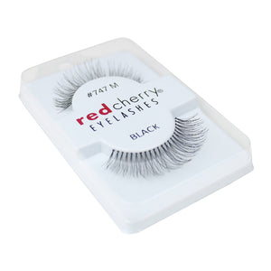 Red Cherry 100% Human Hair False Eye Lashes Fake Eye Lashes #747M Birmingham