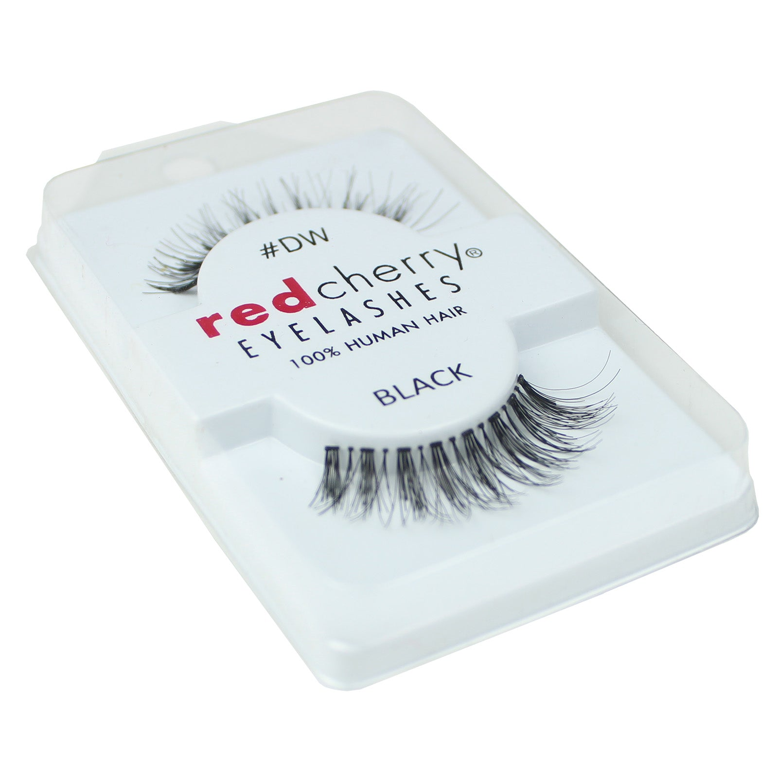 Red Cherry 100% Human Hair False Eye Lashes Fake Eye Lashes #DW Demi Wispy