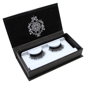Eyebeautiful 100% Real Mink Fur Strip False Eye Lashes #007