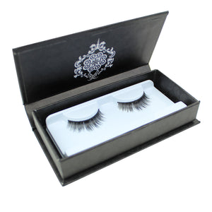 Eyebeautiful 100% Real Mink Fur Strip False Eye Lashes #20