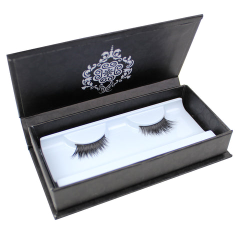 Eyebeautiful 100% Real Mink Fur Strip False Eye Lashes #3083