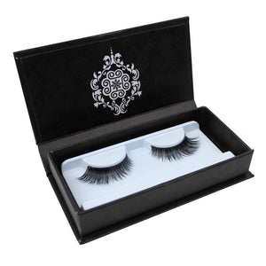 Eyebeautiful 100% Real Mink Fur Strip False Eye Lashes #38