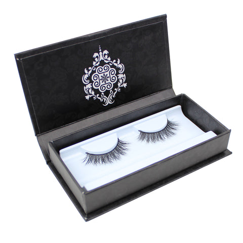Eyebeautiful 100% Real Mink Fur Strip False Eye Lashes #90