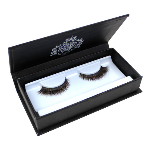 Eyebeautiful 100% Real Mink & Fox Fur Strip False Eye Lashes #HMT1003