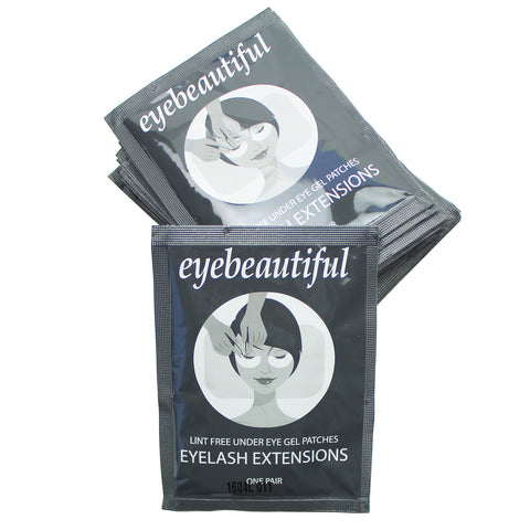 Eyelash Extension Under Eye Gel Pad Patches By Eye Beautiful 25 Pack