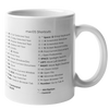 macOS Shortcuts Mug (Light Mode)